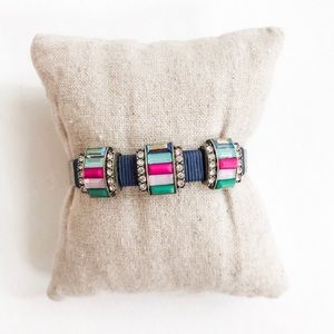 Stella and Dot Moxie gem cuff